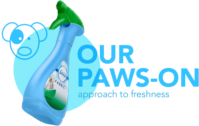 our paws-on approach to freshness