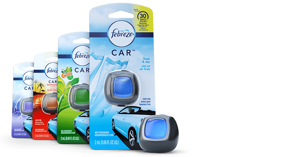 honk if you love Febreze in cars