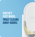 Doesn't Just Mask, Truly Cleans Away Odors