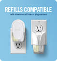 Refills compatible with all Febreze plug warmers
