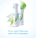 Pure, light freshness with a hint of bamboo