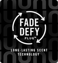 Fade Defy Plug. Long-lasting scent technology