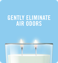 Gently eliminate air odors