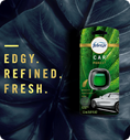 Edge. Refined. Fresh