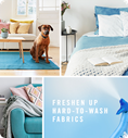 Freshen up hard-to-wash fabrics