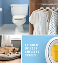 Freshen up your smallest spaces