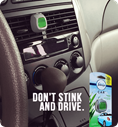 Don't stink and drive.