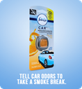 Tell car odors to take a smoke break.