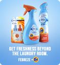 Get freshness beyond the laundry room.