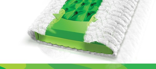 Swiffer Sweeper Floor Mop Starter Kit Cloth Grippers