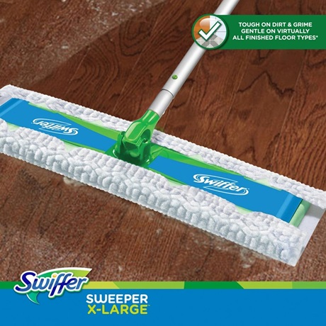 Swiffer 174 Sweeper X Large Wet Mopping Pad Open Window