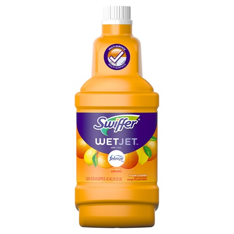 Wetjet Solution Refills Sweet Citrus Amp Zest Swiffer