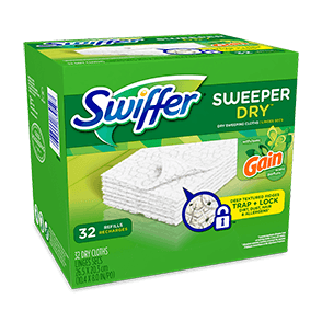 Swiffer Sweeper Dry Cloths Gain