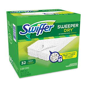 Swiffer Sweeper Dry Cloths Unscented