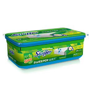 Swiffer Sweeper Wet Mopping Gain