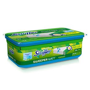 Swiffer Sweeper Wet Mopping Open Window Refills