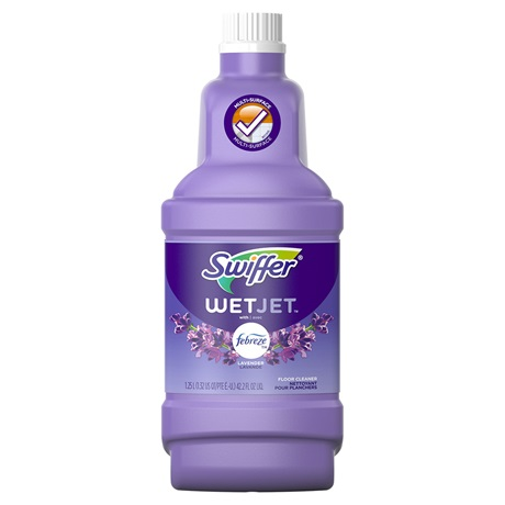 Wetjet Solution Refills Lavender Swiffer