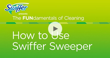 How to Use Swiffer Sweeper