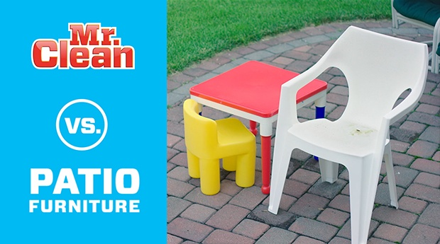 Clean Your Patio Furniture Mr Clean 174