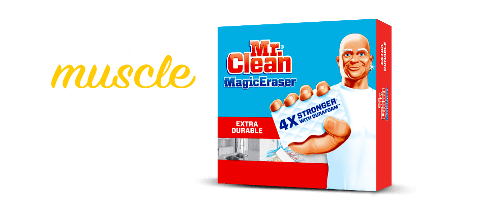 Mr. Clean Magic Eraser Product Family