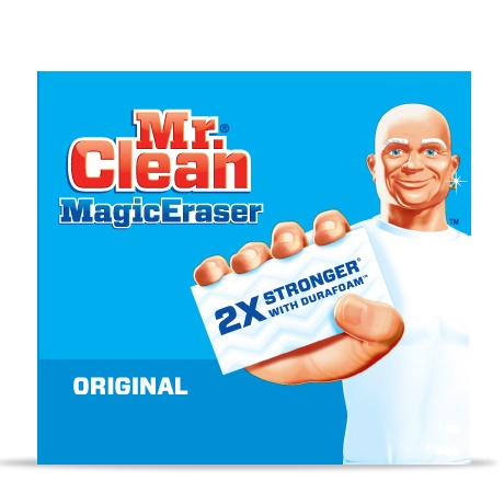 Magic Eraser Original For A Powerful Cleaning Mr Clean