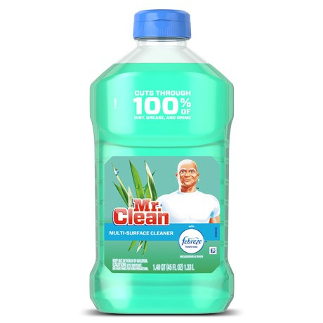 . Mr Clean    Multi Surface Cleaner with Febreze Meadows and Rain