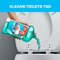 Cleans toilets too