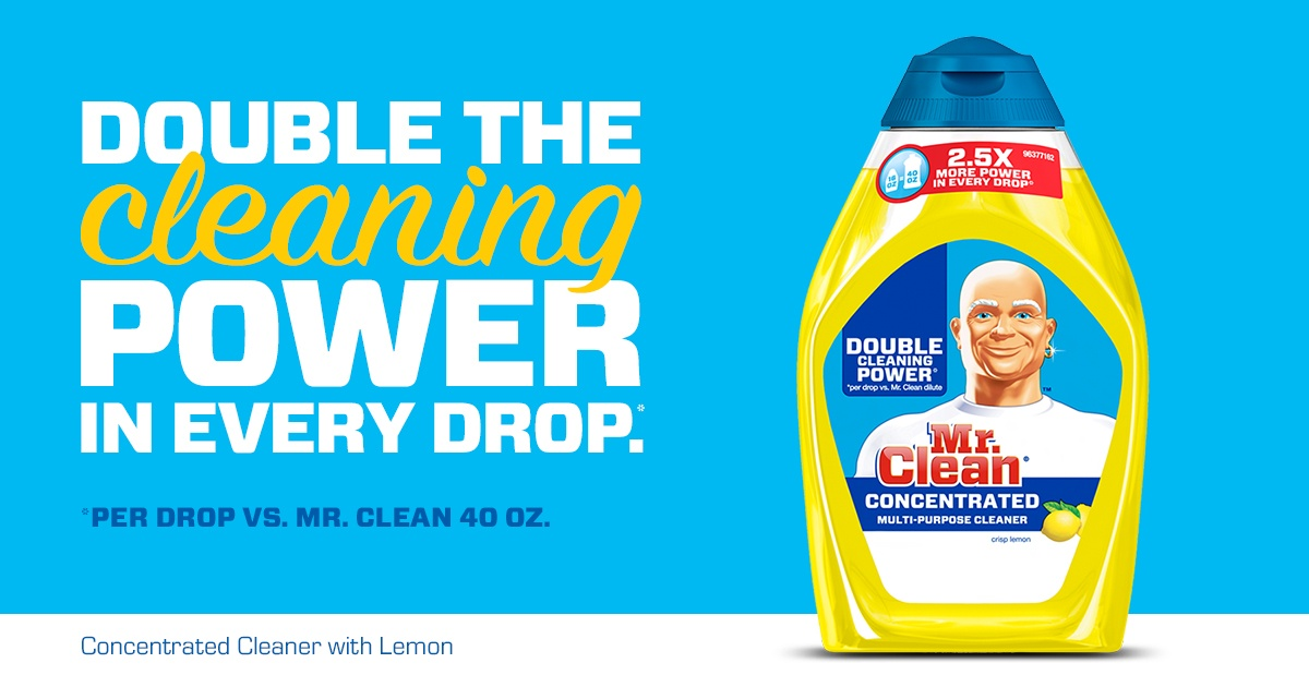 Mr Clean 174 Concentrated Cleaner With Lemon