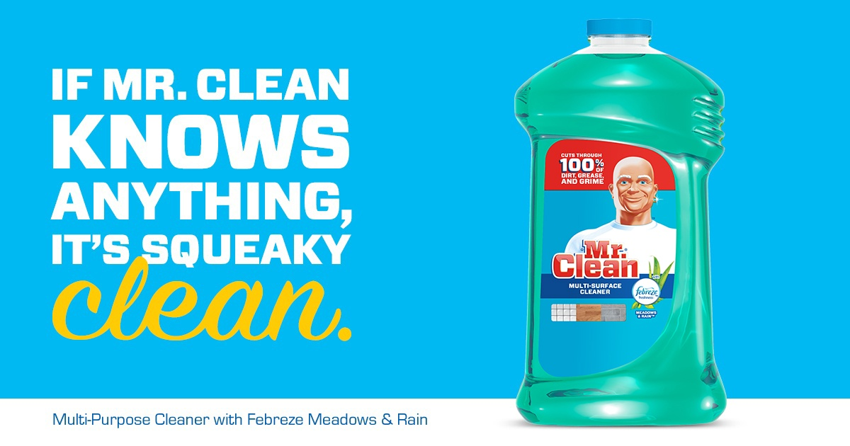 Mr Clean With Febreze